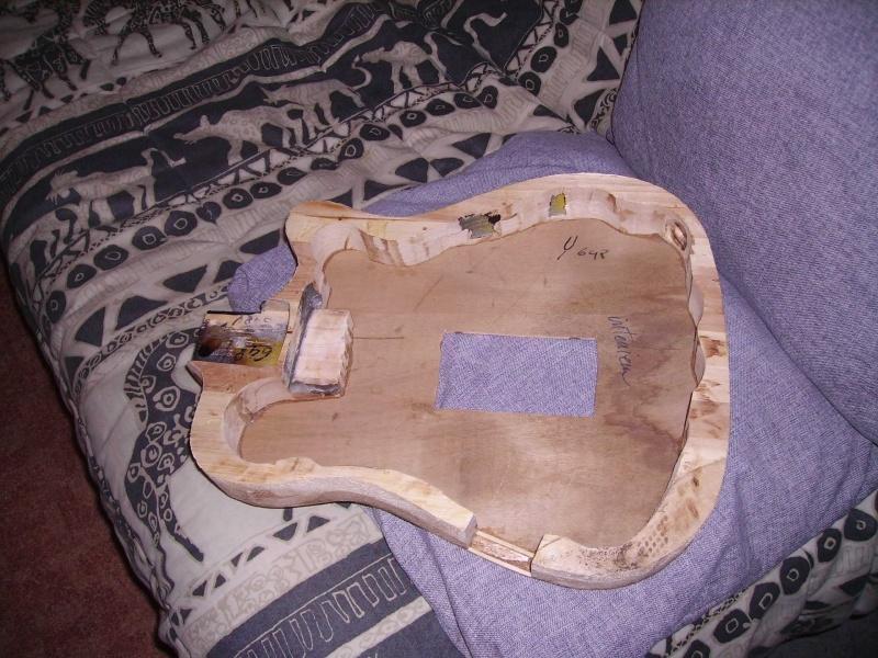 Guitare à la Godin Pict8311