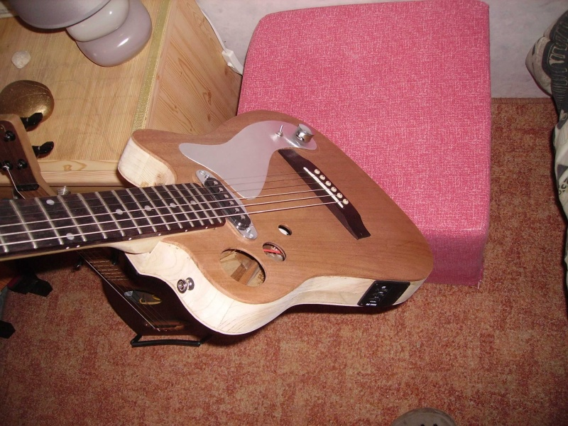 Guitare à la Godin Pict8327