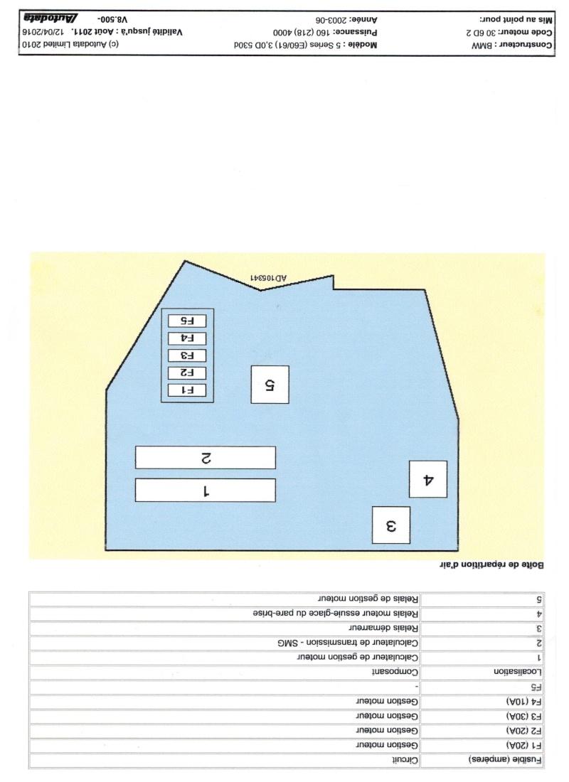 Schémas de fusibles 530 e60  Image_18