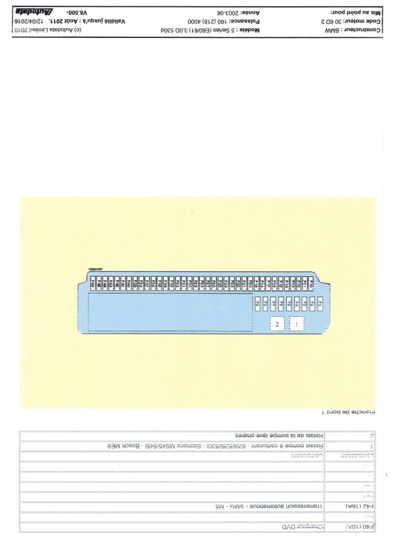 Schémas de fusibles 530 e60  Image_19
