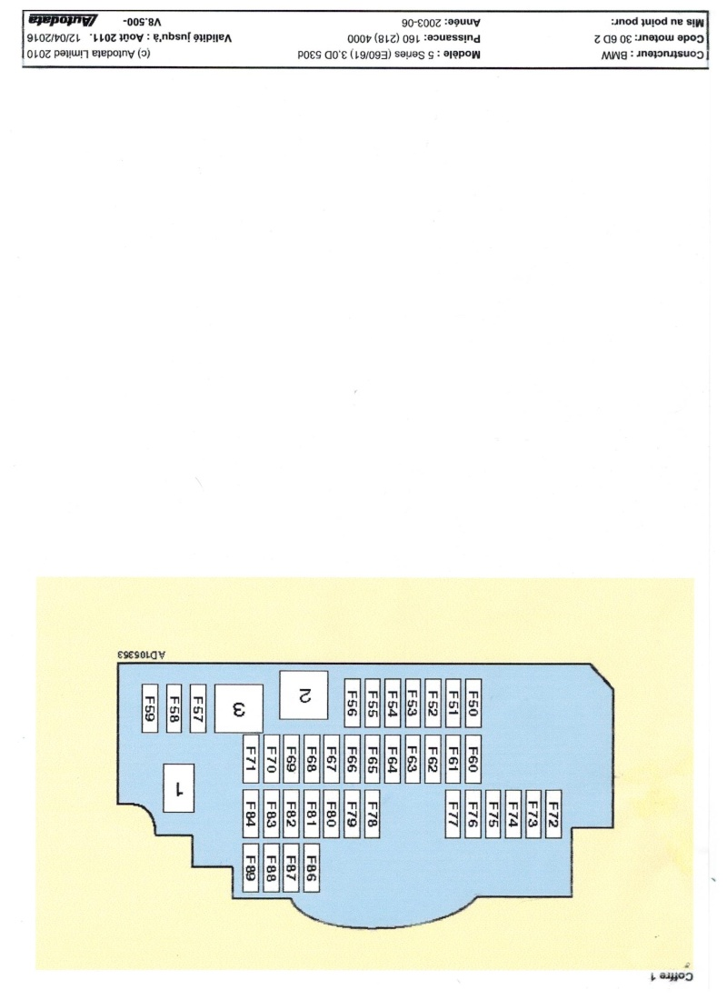 Schémas de fusibles 530 e60  Image_21