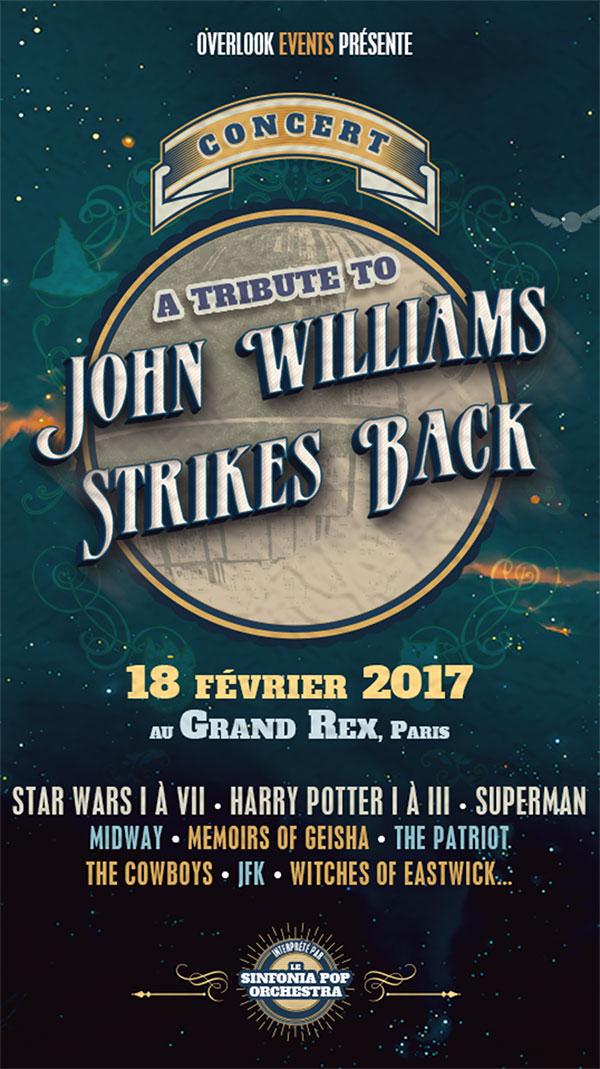 A tribute to John Williams Stikes Back au Grand Rex 18/02/17 Tribut11