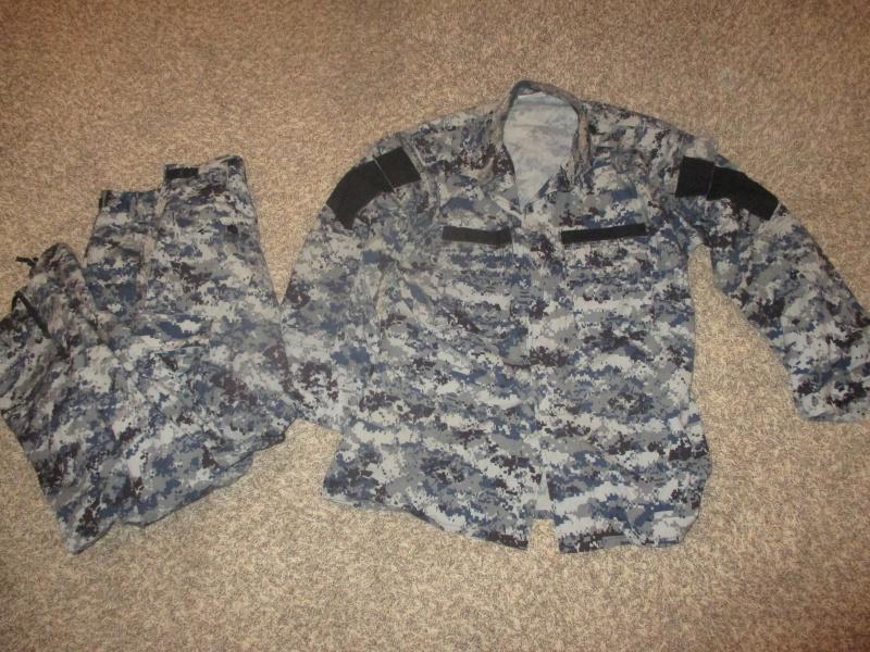 US Made Iraqi Uniform * Blue Digital (ACU Cut) Img_2210