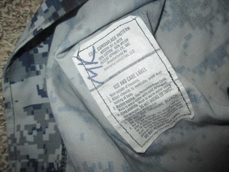 US Made Iraqi Uniform * Blue Digital (ACU Cut) Img_2212