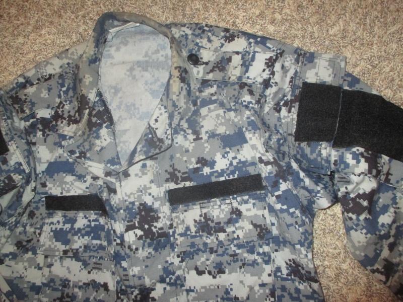 US Made Iraqi Uniform * Blue Digital (ACU Cut) Img_2213