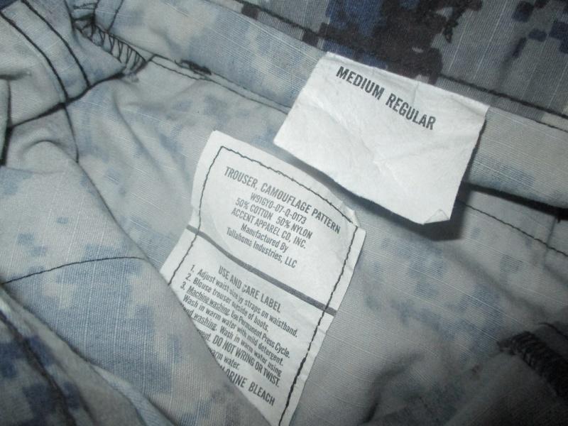 US Made Iraqi Uniform * Blue Digital (ACU Cut) Img_2217