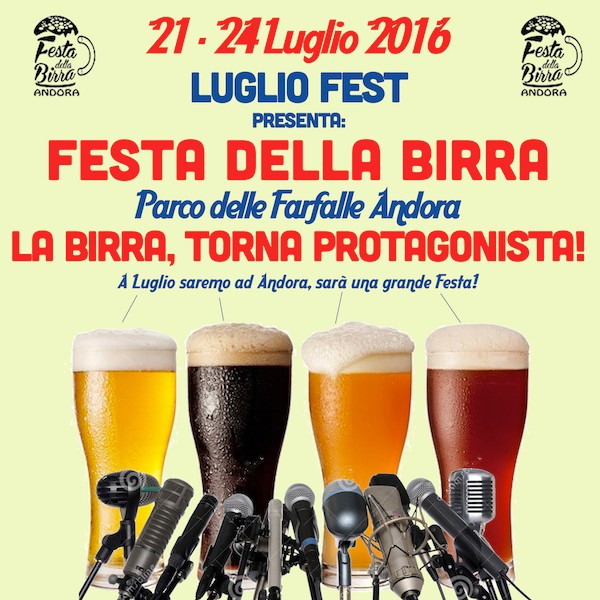 birra - Festa della Birra di Andora 21-24 Luglio 2016 Confer10