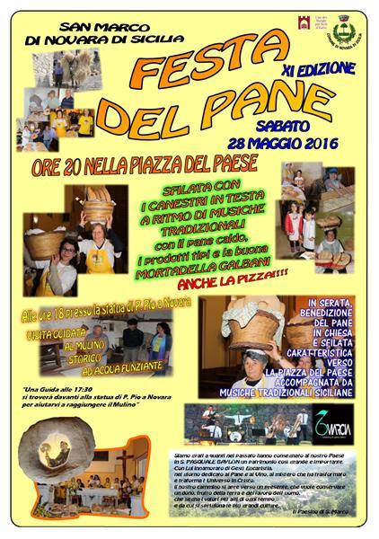 Sicilia - FESTA DEL PANE  11° Edizione S. Marco - Novara di Sicilia (ME) SABATO 28 Maggio  Immagi10