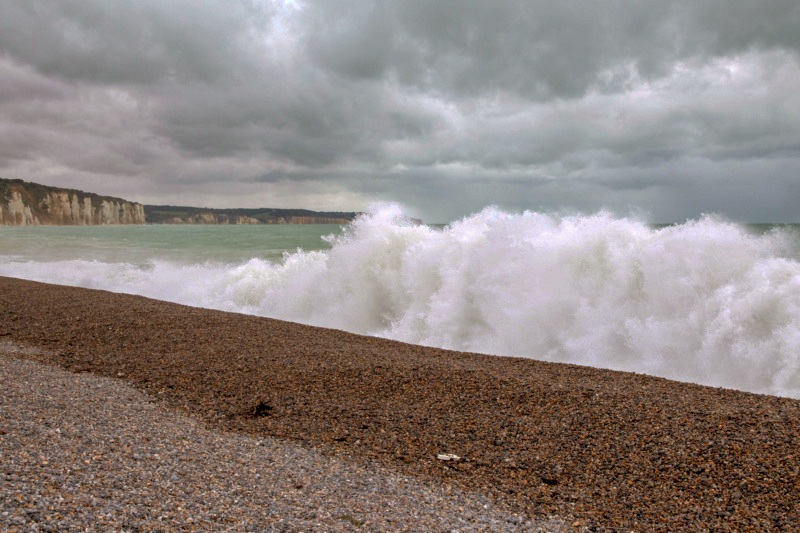 grande marée à DIEPPE Test210