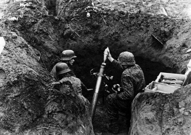 Granatwerfer, les mortiers de l'armée allemande. - Page 2 M110