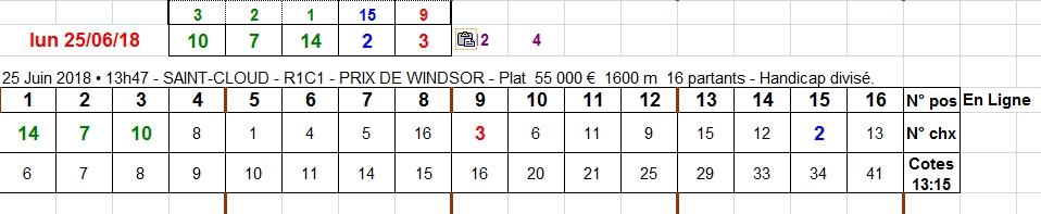25/06/2018 --- SAINT-CLOUD --- R1C1 --- Mise 3 € => Gains 0 €. Scree216