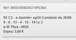 26/06/2018 --- AUTEUIL --- R1C3 --- Mise 3 € => Gains 0 €. Scree217