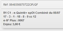 05/07/2018 --- ENGHIEN --- R1C1 --- Mise 3 € => Gains 0 €. Scree257