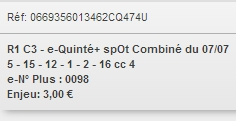 07/07/2018 --- ENGHIEN --- R1C4 --- Mise 3 € => Gains 2,6 €. Scree265