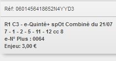 21/07/2018 --- ENGHIEN --- R1C3 --- Mise 3 € => Gains 0 €. Scree311