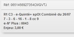 26/07/2018 --- MAISONS-LAFFITTE --- R1C3 --- Mise 3 € => Gains 0 €. Scree336