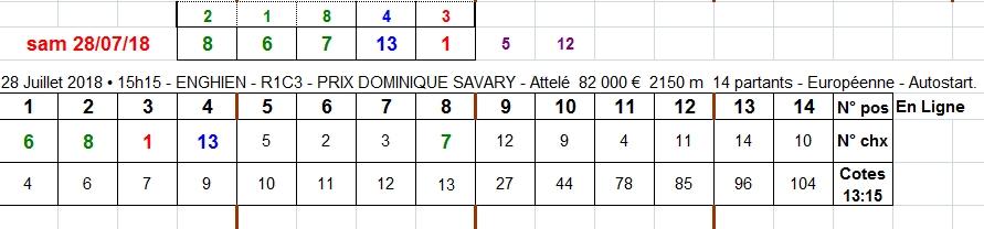 28/07/2018 --- ENGHIEN --- R1C3 --- Mise 3 € => Gains 7,95 €. Scree347