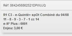 04/08/2018 --- CLAIREFONTAINE --- R1C3 --- Mise 3 € => Gains 0 €. Scree375
