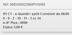 06/08/2018 --- CLAIREFONTAINE --- R1C3 --- Mise 3 € => Gains 0 €. Scree383