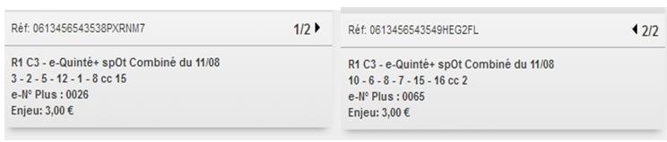11/08/2018 --- DEAUVILLE --- R1C3 --- Mise 6 € => Gains 0 €. Scree400
