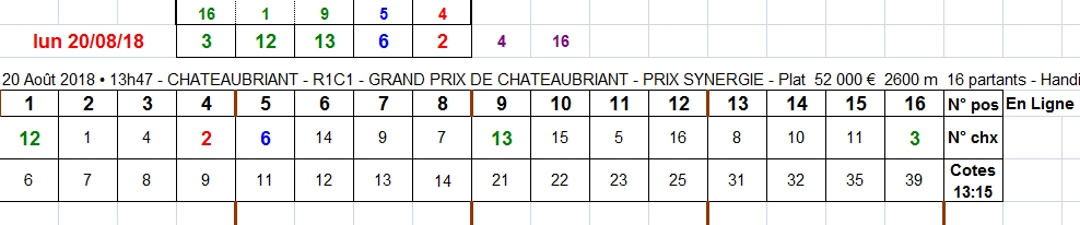 20/08/2018 --- CHATEAUBRIANT --- R1C1 --- Mise 10 € => Gains 0 €. Scree419