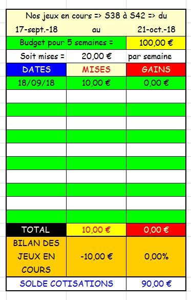 18/09/2018 --- COMPIEGNE --- R1C3 --- Mise 10 € => Gains 0 €. Scree457