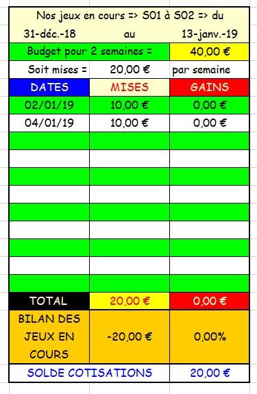 04-01-2019 ---DEAUVILLE --- R1C4 --- Mise 10 € => Gains 0 €. Scree579