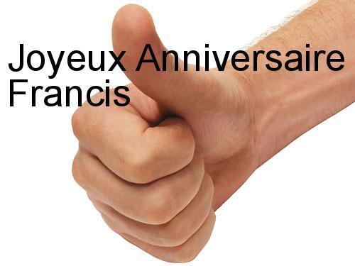 C Est L Annivesaire De Francis Jacquet