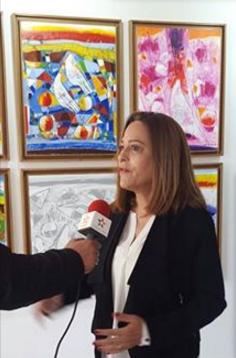 07/05 - Aziza Elkadiri :  poète et artiste peintre jdidi en sa ville natale Aziza_10