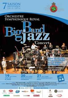 """19/04 - Théâtre Afifi, Orchestre symphonique Royal : """"Big Band Jazz"""" Big-ba10"""