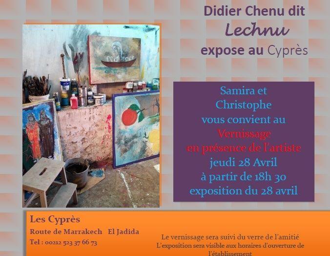 28/04 au 02/05 - Exposition de peinture  de Didier Chenu Chenu10