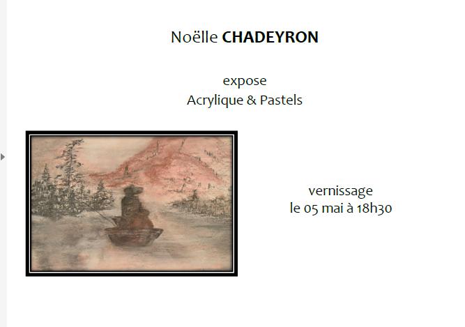 05/05 au 20/05 - Galerie 104 : exposition de peinture de Noëlle Chadeyron Galeri10