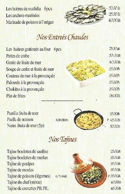 Restaurant & plats à emporter : Chez Kiki, le marché du poisson Resto10