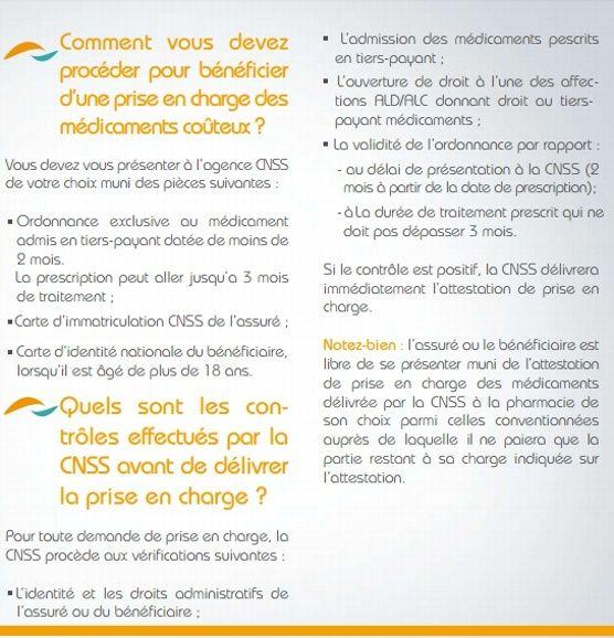 CNSS - le dispositif de tiers-payant Tiers_10