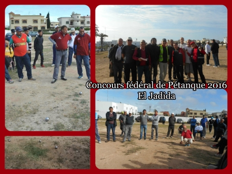 17/04 -Pétanque : 12ème concours fédéral d'El Jadida Www_ki20