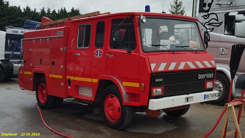 Berliet des pompiers Smart260