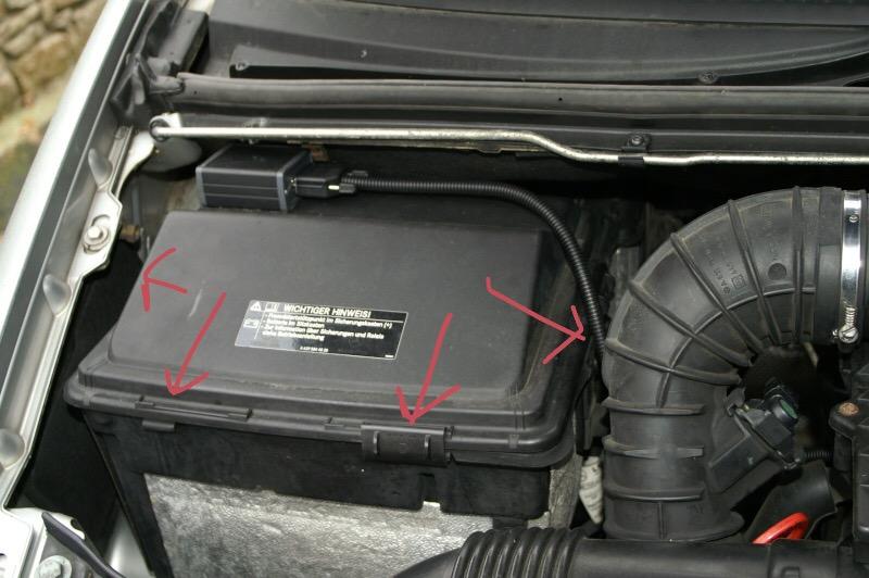 borne positive d u00e9port u00e9e et probl u00e8me batterie vito mp 112