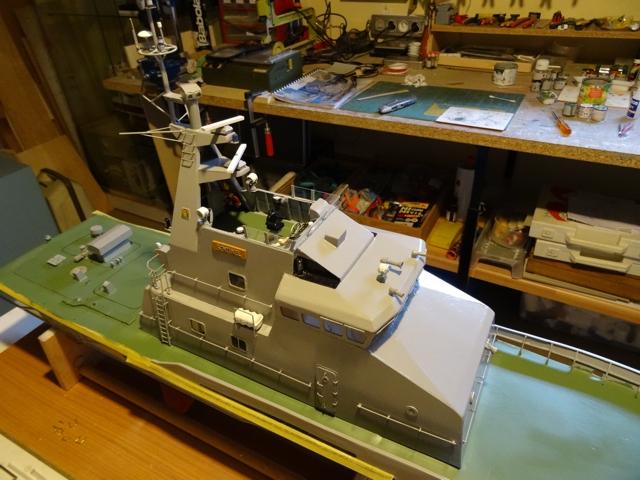 HMCC Patrouilleur Sentinel Cutter  AU 1/40ème de chez Model Slipway  - Page 3 Sentin11