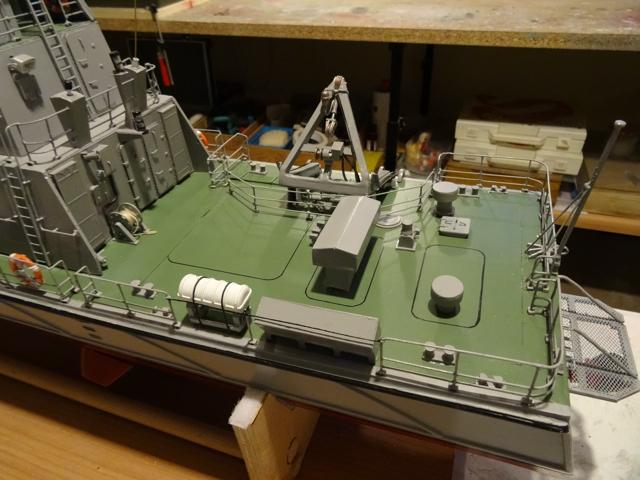 HMCC Patrouilleur Sentinel Cutter  AU 1/40ème de chez Model Slipway  - Page 3 Sentin24