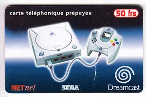 [Collection] Telecarte - les Télécartes jeu vidéo et autres 3510