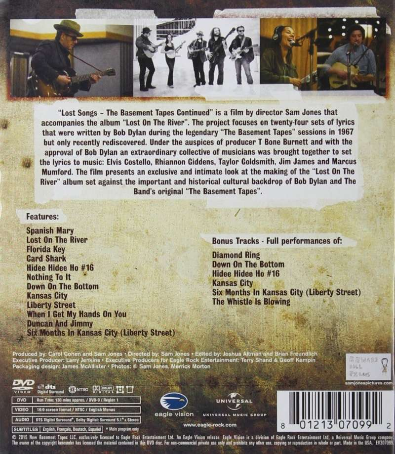 Lost Songs: The Basement Tapes Continued 91xxmr10
