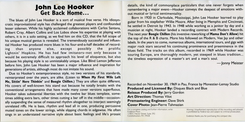 John Lee Hooker - Page 12 Inside11