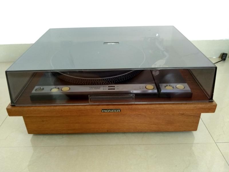 Vintage Pioneer PL-61 Studio Belt Drive TurnTable ( Used) Img_2024