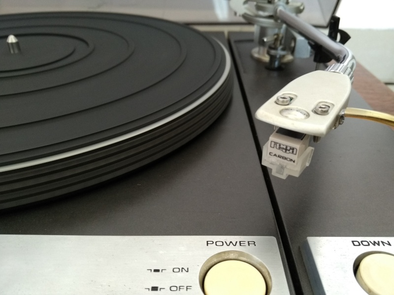 Vintage Pioneer PL-61 Studio Belt Drive TurnTable ( Used) Img_2029