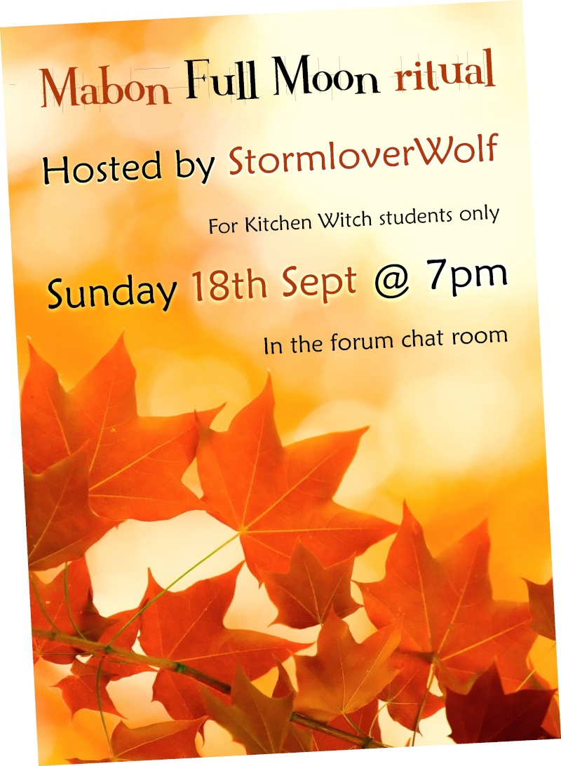 Mabon full moon ritual Sun 18th September Mabon_13