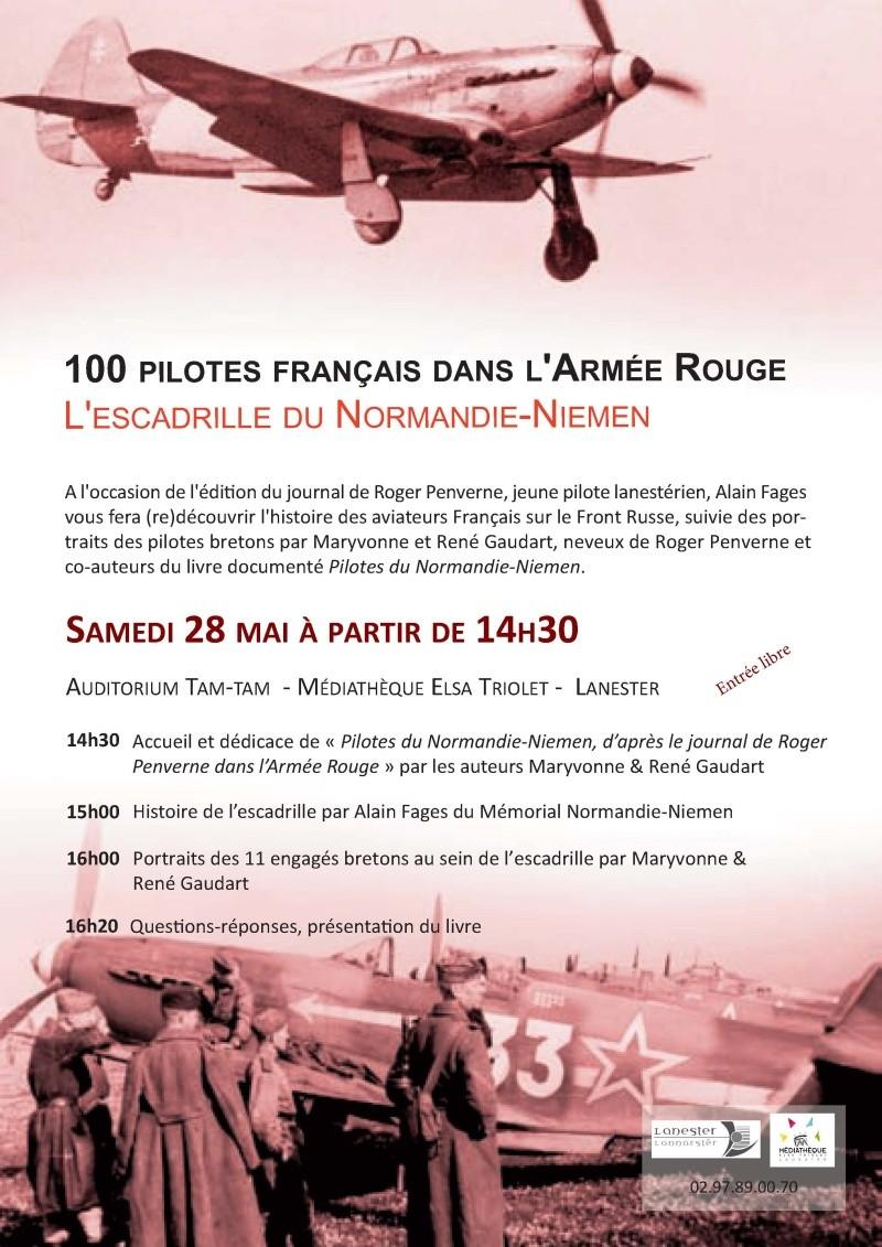 PILOTES DU NORMANDIE-NIEMEN D'après le journal de Roger Penverne dans l'Armée Rouge Lanest10