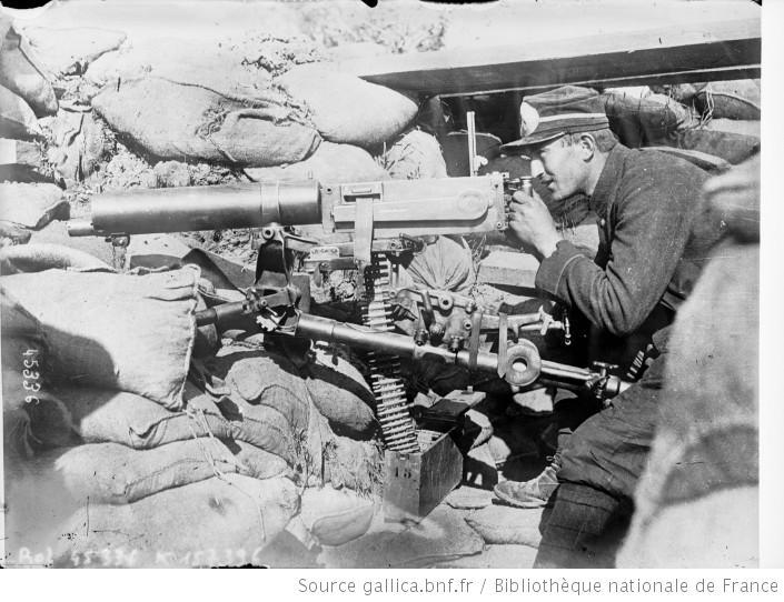 MG11 (dite mitrailleuse Maxim) Mod_1910