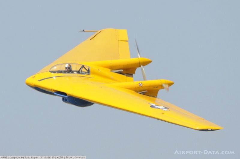Horten HO 2-29, l'aile volante indétectable A5189910