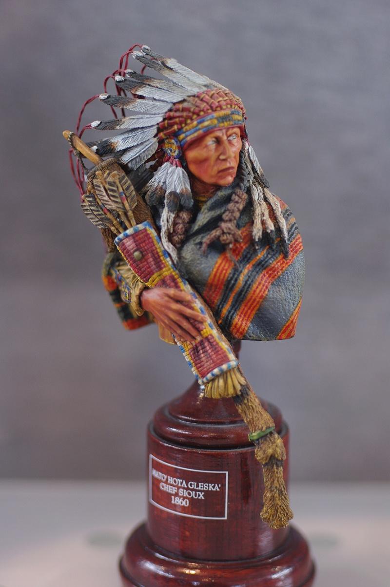 Mato' Hota Gleska' - Chef Sioux 1860  Sutt7411