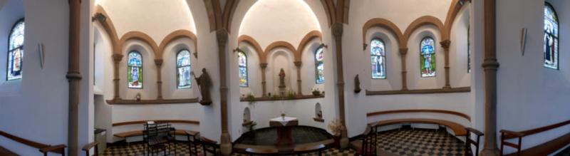 La chapelle de l'abbaye de Clairefontaine en Belgique P1020210